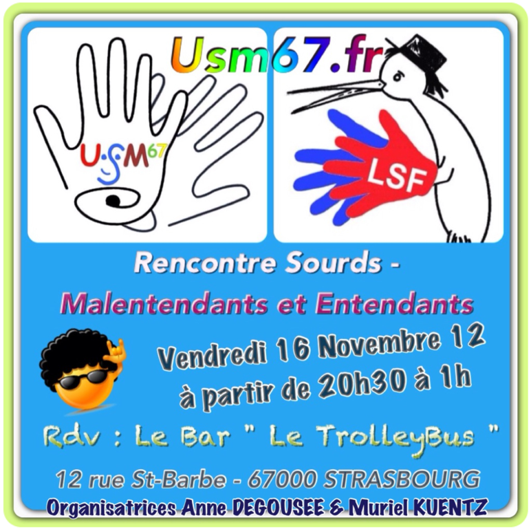 Rencontre sourds entendants