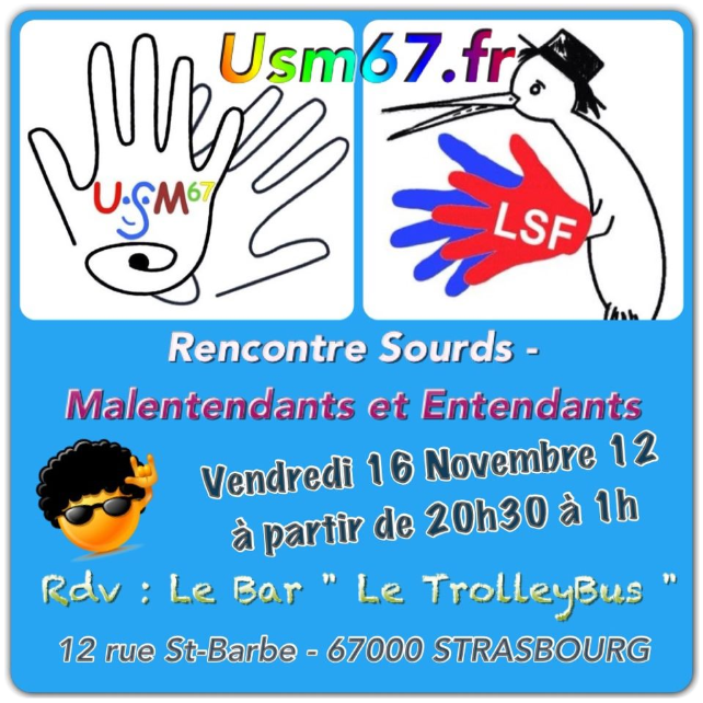 Rencontre sourds malentendants